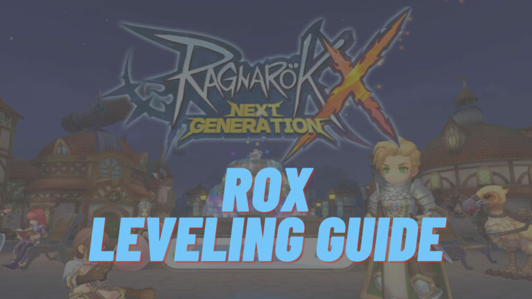 rox leveling guide banner
