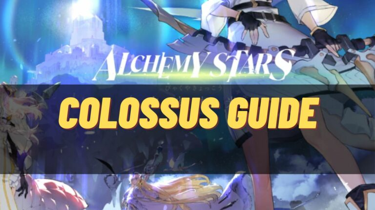 alchemy stars colossus guide