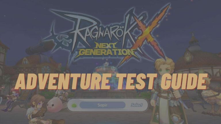 rox adventure test guide