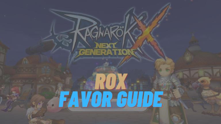 rox favor guide