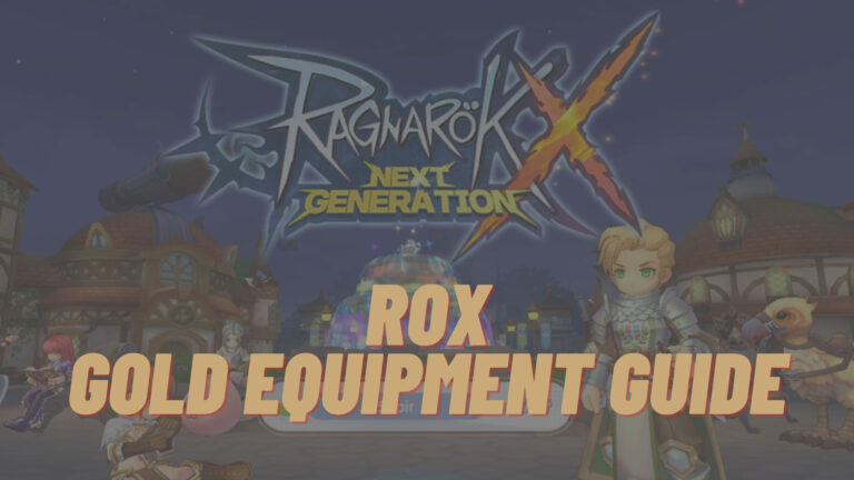 rox gold equipment guide